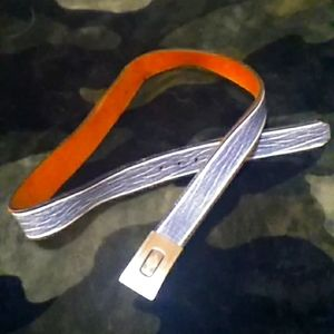 Vintage Ferragamo Leather Belt